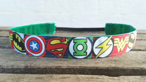 Superhero Nonslip Headband
