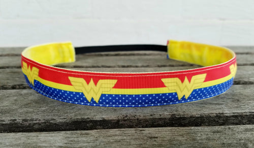 Classic Wonder Woman Nonslip Headband