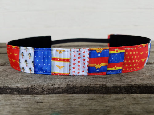 Wonder Woman Inspired Non-slip Headband