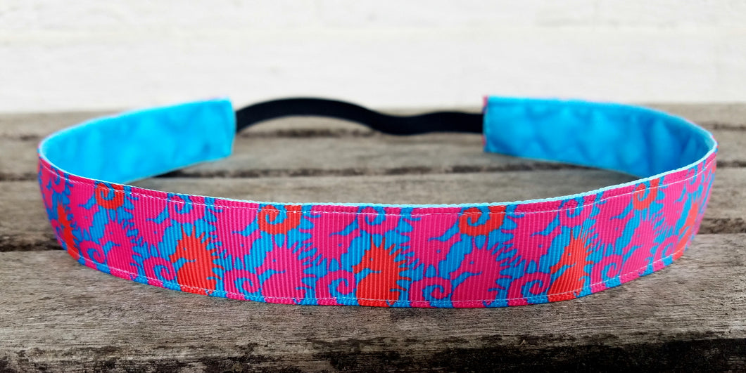 Lilly Inspired Sea Horse Nonslip Headband