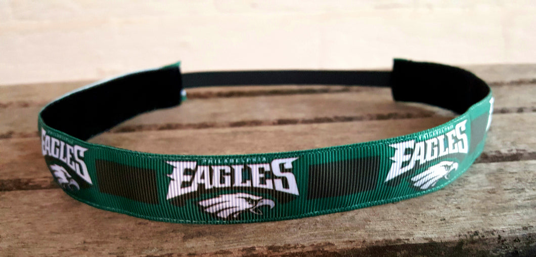 Green EAGLES Nonslip Headband