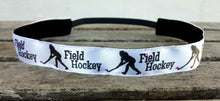 Nonslip Field Hockey Headband in 7 colors/patterns