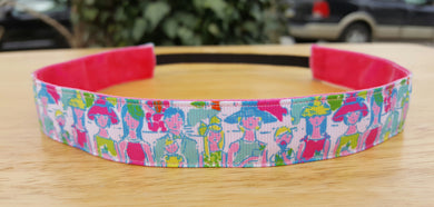 Lilly Inspired Giddy Up Kentucky Derby Nonslip Headband