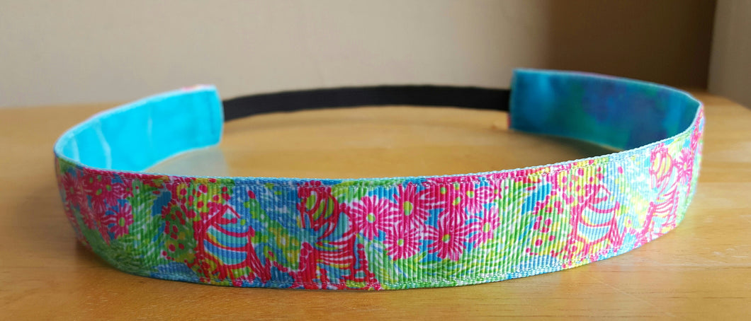 Lilly Inspired Lilly Lovers Coral Nonslip Headband