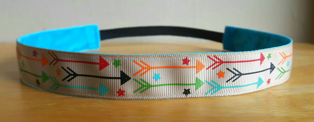 Colorful Arrows Nonslip Headband