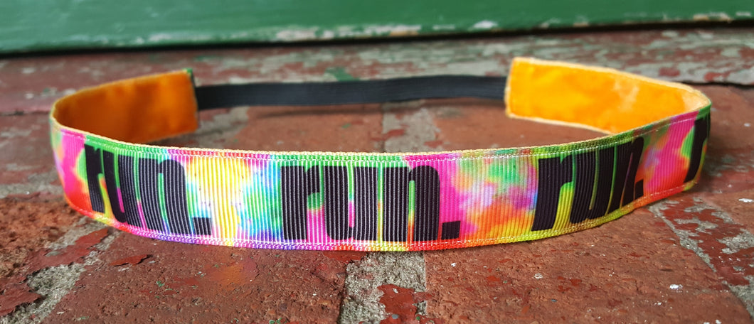 Runner Girl Color Run Headband