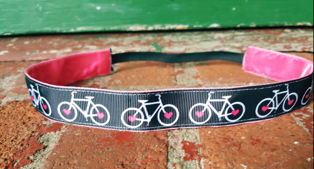 Bike Heart Headband