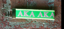 Custom Sorority Nonslip Headbands and Key Fobs