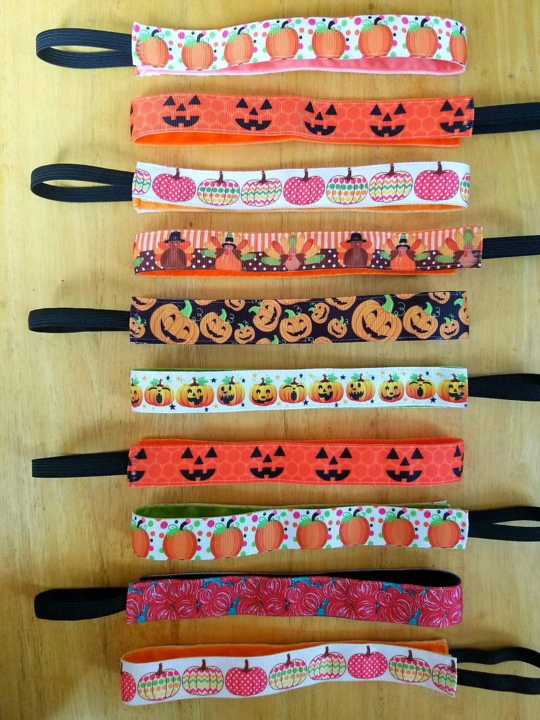 Pumpkin Halloween Headband