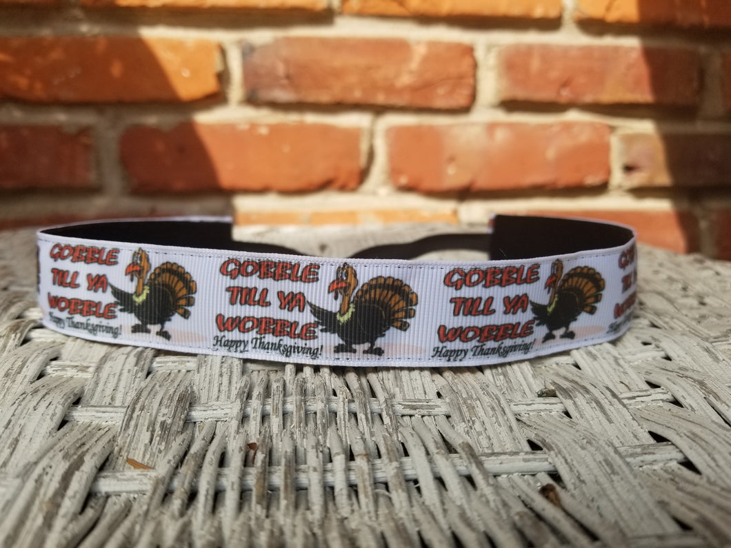 Thanksgiving Turkey Gobble Nonslip Headband