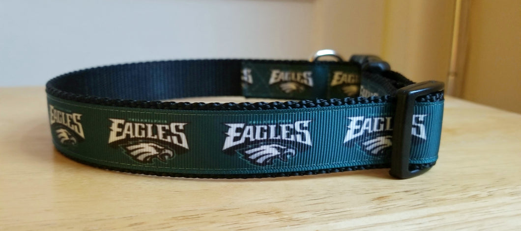 Eagles Superbowl Dog Collar