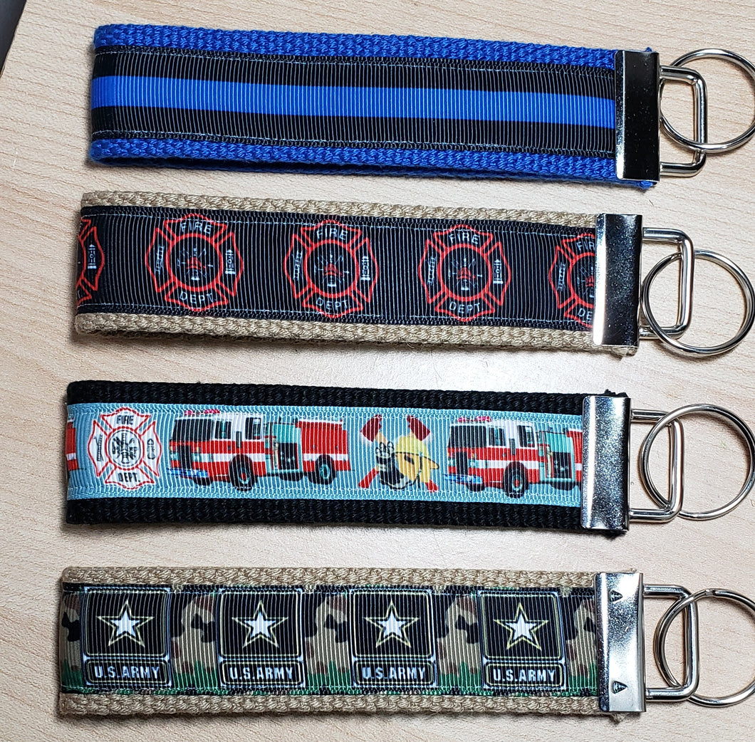 Police, Fire and Army Key Fobs