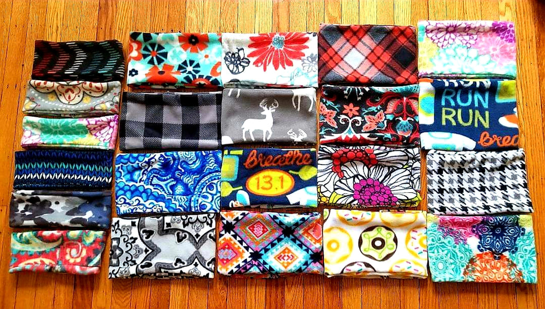 BlizzardBandz Fleece Neck Warmers- 54 Patterns