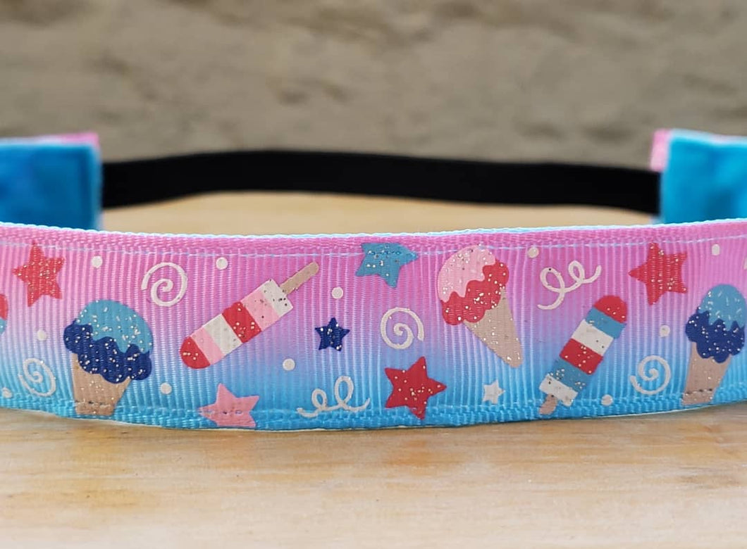 Birthday Ombre Fade Nonslip Headband