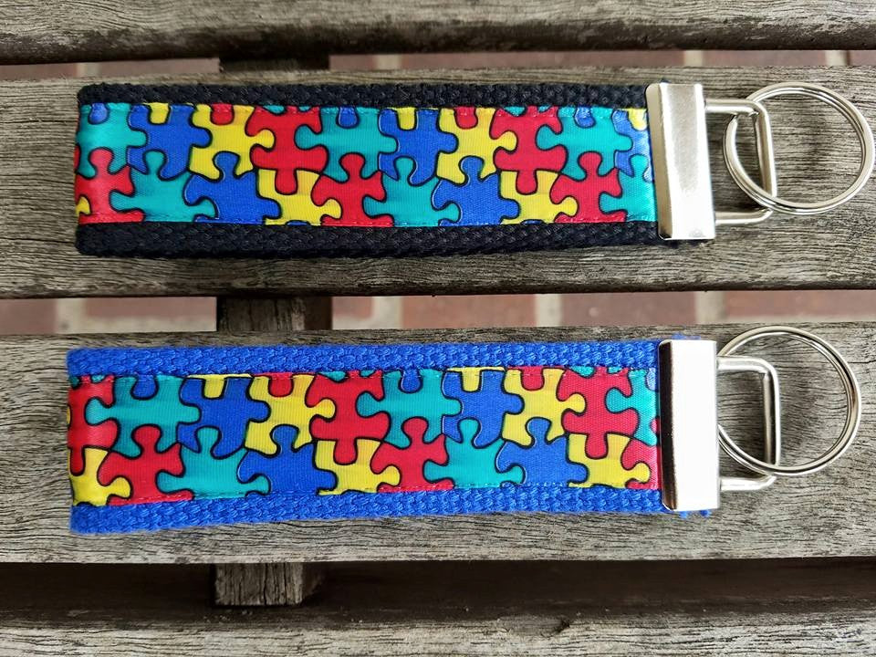 Autism Awareness Key Fobs