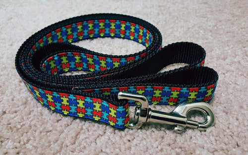 Autism Awareness Dog Leash
