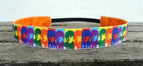 Andy Warhol Beatles Nonslip Headband