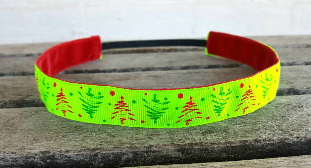 Bright Christmas Tree Nonslip Headband