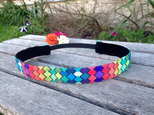 Colorful Diamond Nonslip Headband