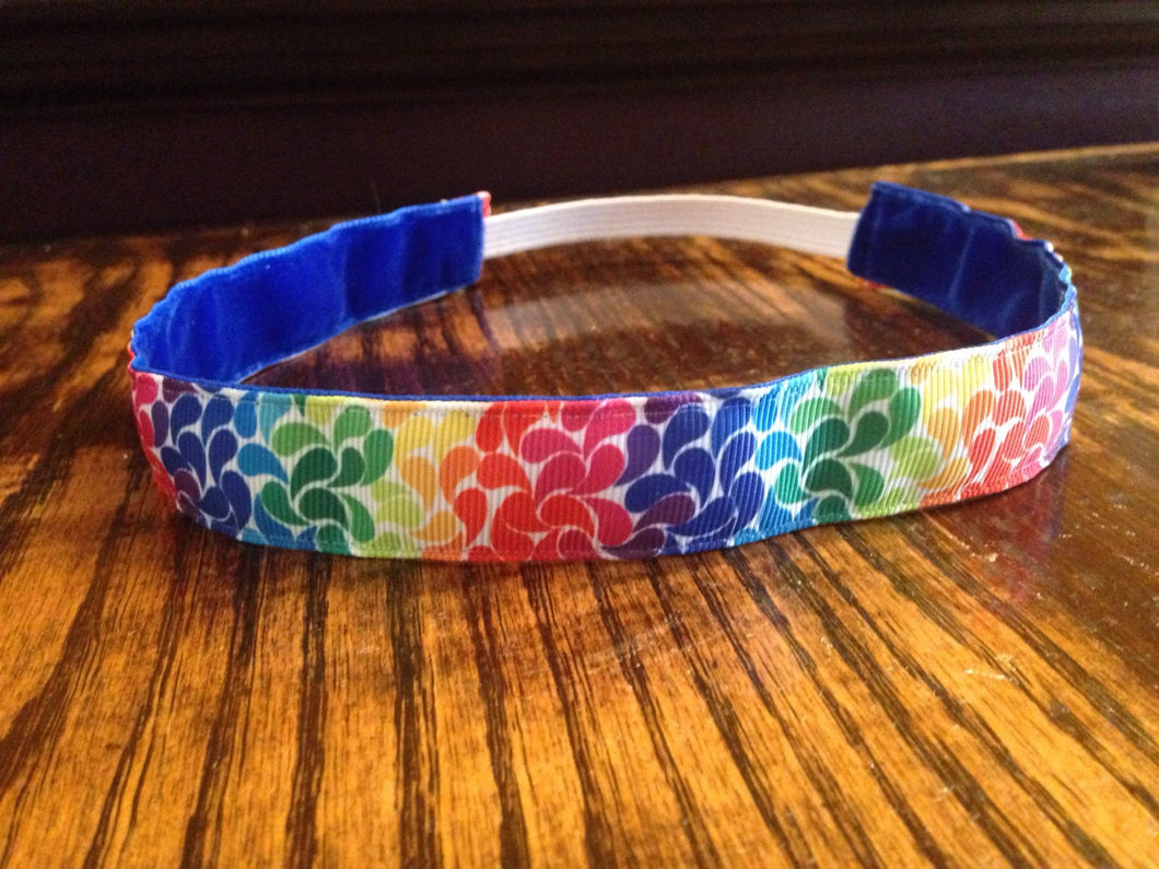 Colorful Rainbow Headband