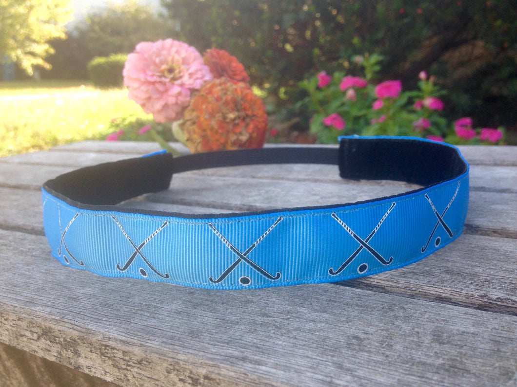 Light Blue Field Hockey Headband