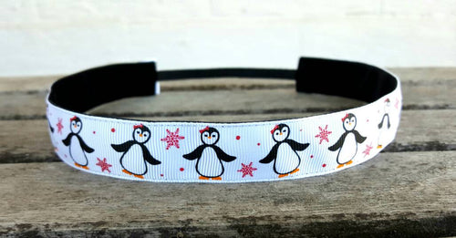 Happy Penguin Nonslip Headband