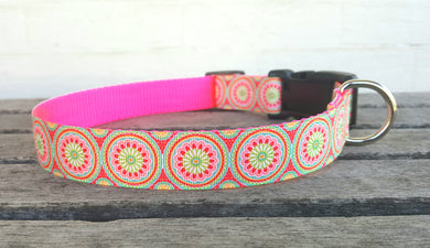 Beautiful Sophie Floral Dog Collar