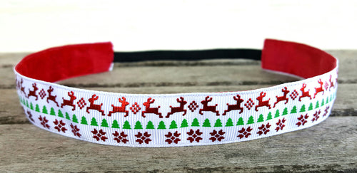 Reindeer Christmas Nonslip Headband