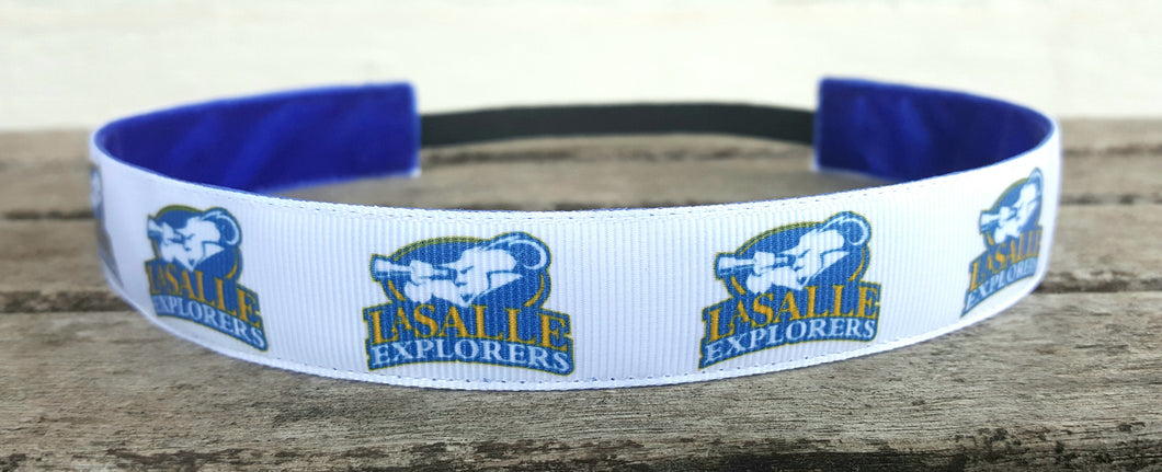 LaSalle Explorers Nonslip Headband