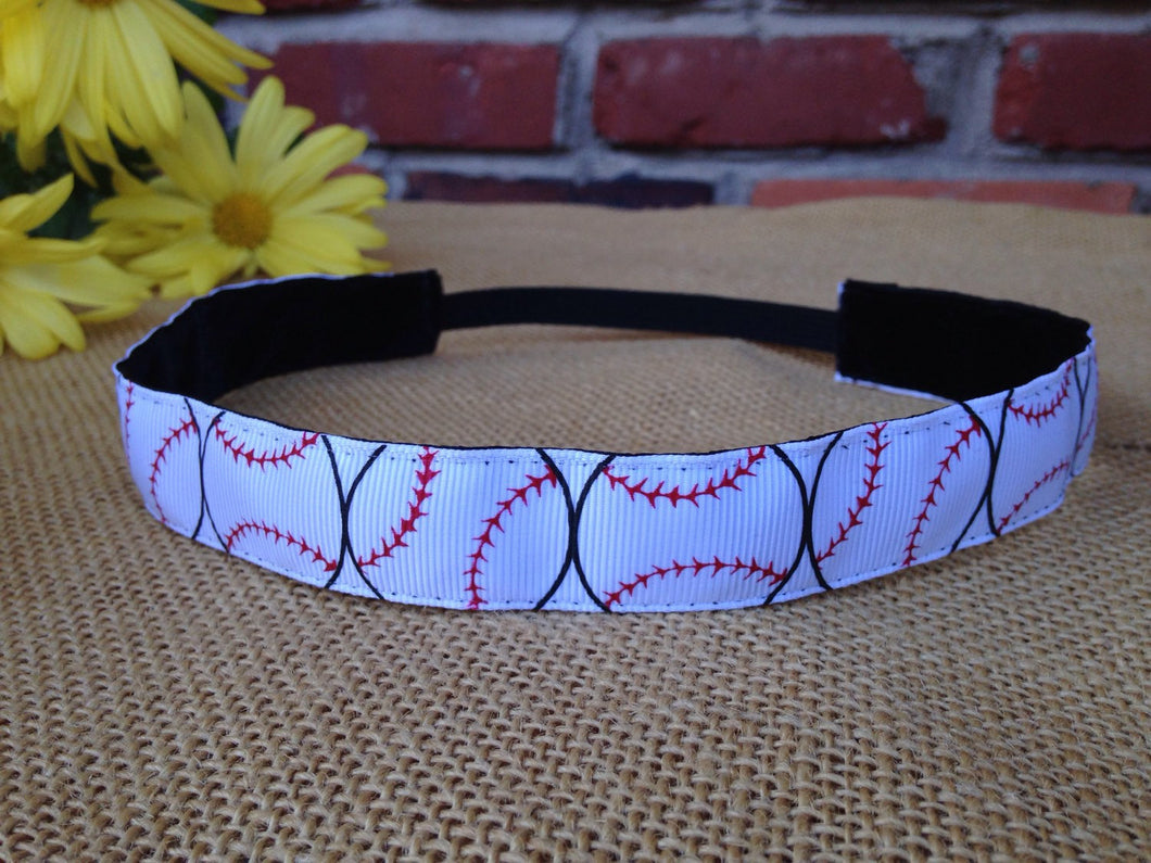 Large Softball Print Headband