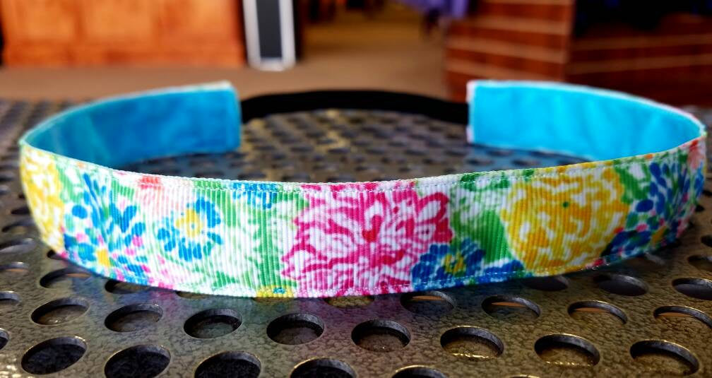 Lilly Inspired Bright Hibiscus Headband