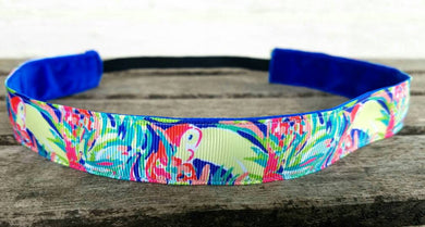 Lilly Inspired Bright Jungle Headband