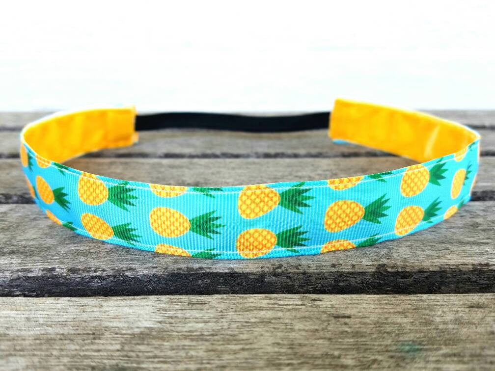 Lilly Inspired Tropical Pineapple Headband