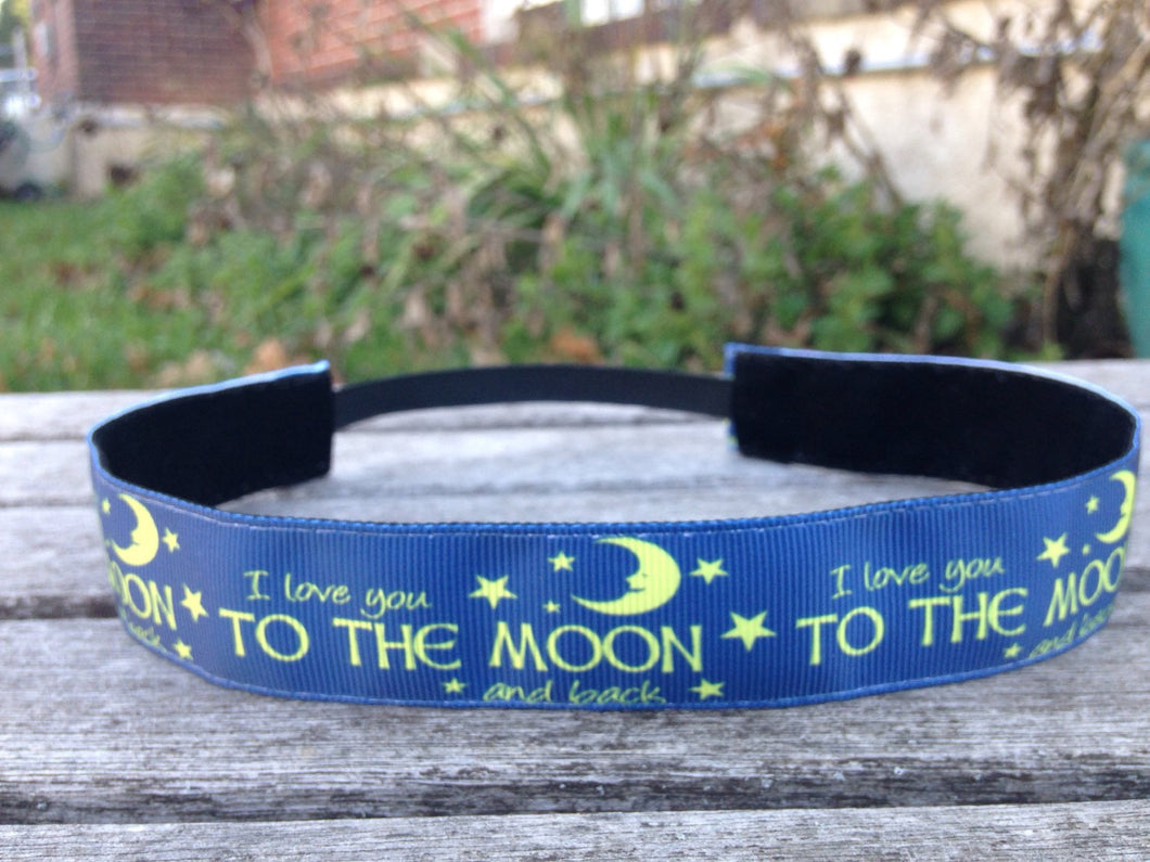 I Love You to the Moon and Back Headband