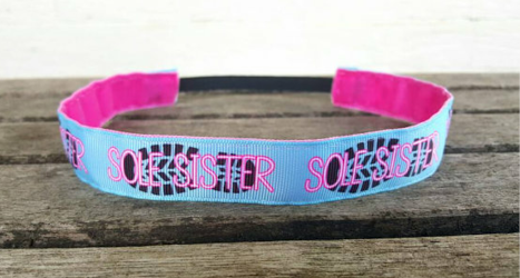 Sole Sister Headband and matching key fob