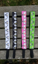 Bright Pink, Green, Navy or White Tennis Headband