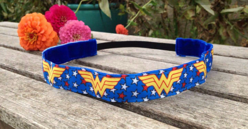 Blue Wonder Woman Nonslip Headband