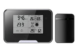 1080p Weather Station and Clock hidden pinhole camera with audio