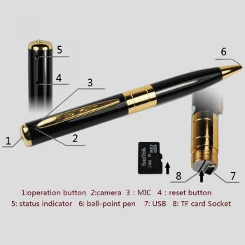 Slim Pen Spy camera