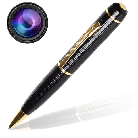 Secret 1080p Pen Camera video and audio Nanny Camera hidden pinhole cam