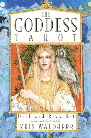 Goddess Tarot Deck and Book Set - Box