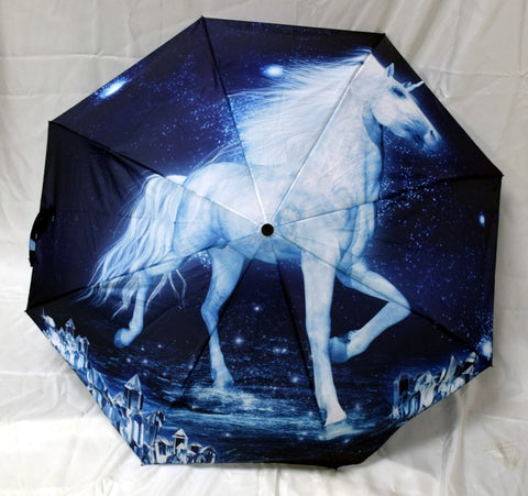 Unicorn Folding Umbrella