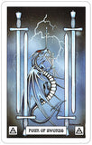 Dragon Tarot - Four of Swords