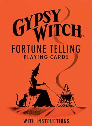 Gypsy Witch Fortune Telling Playing Cards - Box