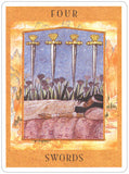 Goddess Tarot Set - Four of Swords