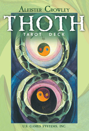 Thoth Tarot by Aleister Crowley and Lady Freda Harris - large