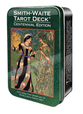 Smith-Waite Centennial Tarot Deck in a Tin