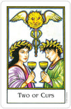 New Palladini Tarot - Two of Cups