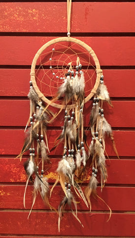 "Dreamcatcher - Natural Wood Whisper, 18"" L x 6.5"" diameter"