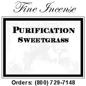 Incense - Sweetgrass for Purification